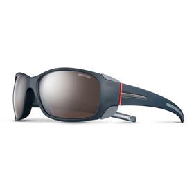 Julbo Monterosa Spectron 4 Sunglasses Women Dark Blue/Gray/Coral-Brown Flash Silver